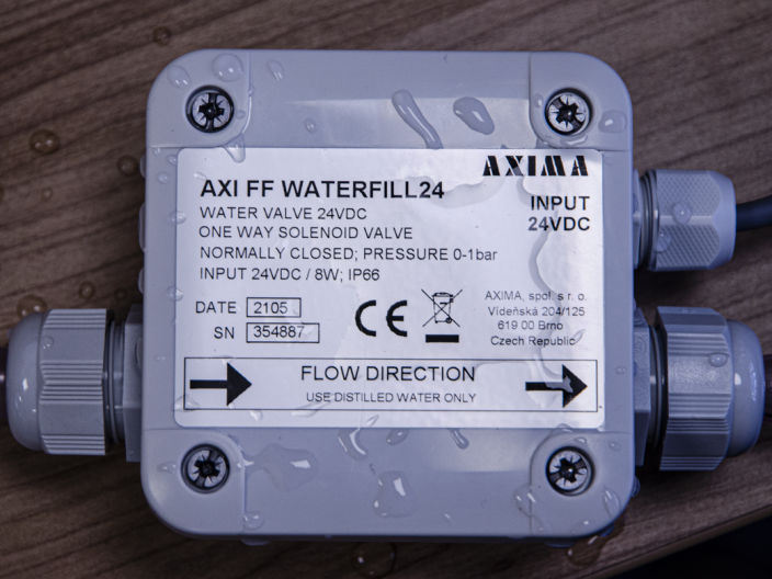 AXI FF WATERFILL24 TUTORIÁL